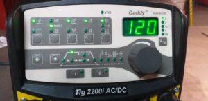 Frontal Caddy TIG Esab